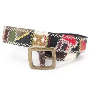 Lucky Brand Boho Belt Made in India Size 28